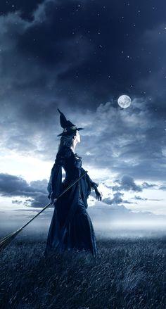 Halloween Live Wallpaper, Witch Wallpaper, Cute Fall Wallpaper, Halloween Backgrounds, Witch Pictures, Pictures To Paint, Witch Pics, Halloween Season, Spooky Halloween