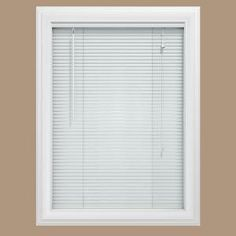 shop blinds window lowes shades door faux r treatments com inch home decor wood at a pl cordless plantation in