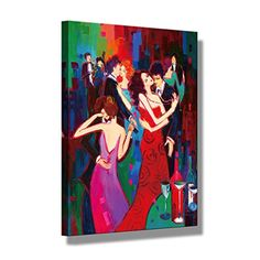 """Home Decorations Canvas Wall Art """"Dancing Party' Canvas Prints in Oil Painting Style Large Size for Wall Decor- >>> Check out the image by visiting the link. Framed Wall Art, Canvas Wall Art, Canvas Prints, Oil Painting For Sale, Paintings For Sale, Artwork Prints, Painting Prints, Wall Decor, Living Room"""