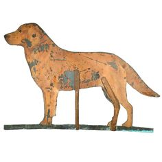 A Life-sized Tavern Sign of a Dog England 19th C