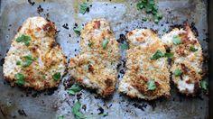 Healthy Baked Cheddar Ranch Chicken recipe