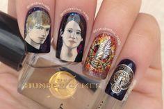 The best Hunger Games nail art