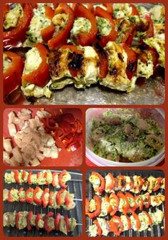 kebabs they are easy and low fat