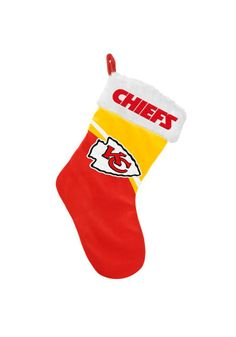 KC Chiefs stocking! Love it!