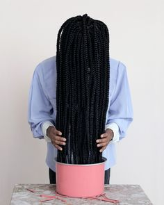 Telling 'Untold' stories of womanhood and the politics of Black hair - The Washington Post African Braids Hairstyles, African American Hairstyles, Braided Hairstyles, Black Hairstyles, Girl Hairstyles, Pelo Natural, Natural Hair Care, Natural Hair Styles, Braids For Black Women