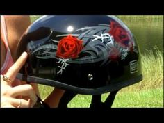 Daytona Helmets Video Review of half motorcycle helmet