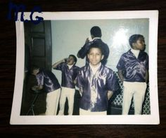 Rare picture of Jermaine and his brothers from the verrrrry earrly Jackson 5 days (Marlon Jackson, Michael Jackson, Jackie Jackson, and Tito Jackson.