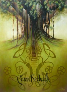 crann bethadh - roughly translated to life tree, or tree of life...