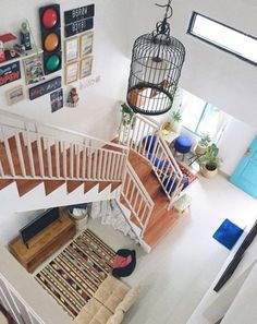 58 Trendy Home Office Layout Modern Small House Design, Home Room Design, Interior Design Living Room, Living Room Designs, Stairs In Living Room, Small Living Rooms, Apartment Layout, Apartment Living, Apartment Bedrooms