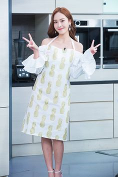 Jessica on Taiwan TV show