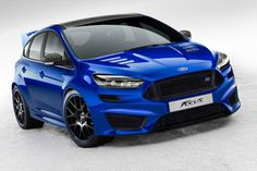 Latest new Ford Focus RS 2015 to hit the production line