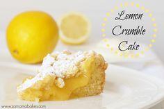 Lemon Crumble Cake Header