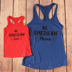 Matching 4th of July Mommy   Me Shirts