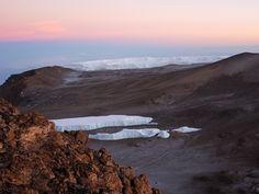 Kibo crater interior - Mt. Kilimanjaro