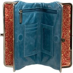 hobo wallet purse- greatest handbag/wallet/purse eliminator ever!! Thankyou Liz Schlener :)