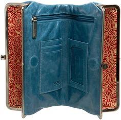 hobo wallet purse- greatest handbag/wallet/purse eliminator ever!! Thankyou Liz Schlener :)