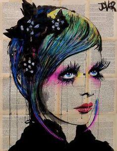"Saatchi Art Artist Loui Jover; Drawing, ""colors """