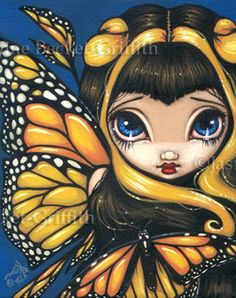 Fairy Pictures: Golden Butterflies by Jasmine Becket-Griffith