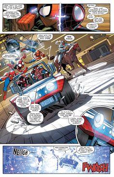 Miles Morales recruitment drive in Amazing Spider-Man #12 (vol. 3)