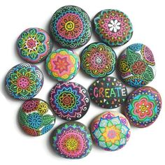 The pictures of my rock doodles are some of my most popular pictures on my