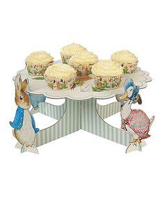 Loving this Peter Rabbit & Friends Cake Stand on #zulily! #zulilyfinds