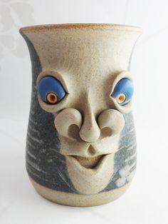 Muggins Coffee Mug Embossed Coloured Ugly by BelieveToBeBeautiful