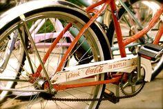 Vintage Coca-Cola bike