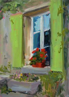 windowbox paintings - Google Search