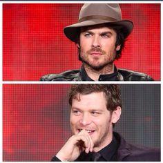 Ian and Joseph
