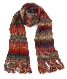 Knit multicolour.
