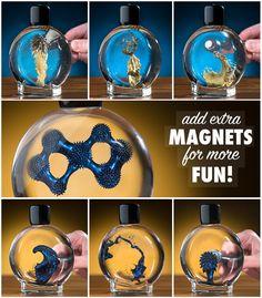 Colorful Ferrofluid: Magnetic Liquid en Oro y Azul<3 Lo tiene la tienda -vat19- en USA a $59,99 Dollares