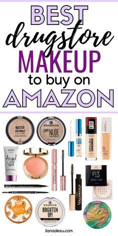 Ultimate Drugstore Makeup Starter Kit for Beginners - liana desu Makeup Must Haves, Makeup To Buy, Makeup Kit, Elf Makeup, Halloween Makeup, Makeup Brushes, Makeup Stuff, Candy Makeup, Drugstore Makeup Dupes