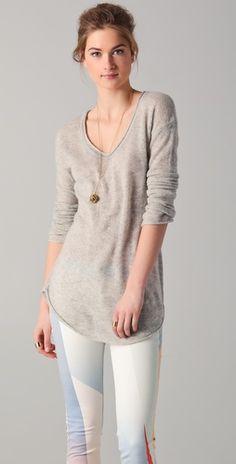 Ami Dans La Rue Cashmere Lounge Sweater