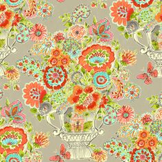 California Dreaming Collection by Dena™ Home for P/K Lifestyles - Blissful Bouquet in Sherbert