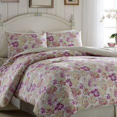 ローラアシュレイ ベッドカバー クイーン リバーシブル マルチカ :bed999:アイディーリ輸入雑貨専門店 - 通販 - Yahoo!ショッピング