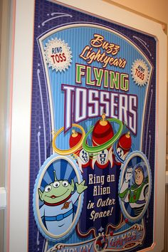 Toy Story mania poster