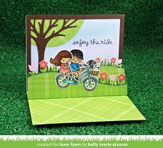 the Lawn Fawn blog: enjoy the ride | Kelly Marie Alvarez | CHA Sneak Week 2017 - Day 1 + giveaway