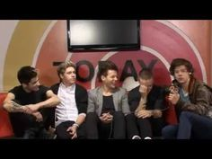 One Direction Backstage Interview. Here's to the directioners that were not surprised by Niall's musical influence! They think we don't know these things...