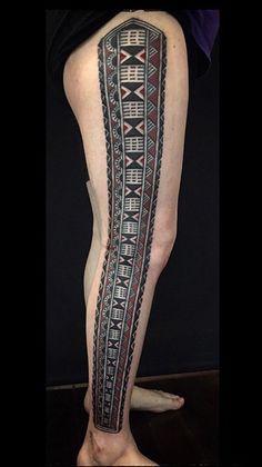 How do you like this tattoo? Tongan Tattoo, Samoan Tattoo, Fiji Tattoo, Polynesian Tribal Tattoos, American Tattoos, Tribal Sleeve, Hybrid Design, Word Tattoos, Body Art
