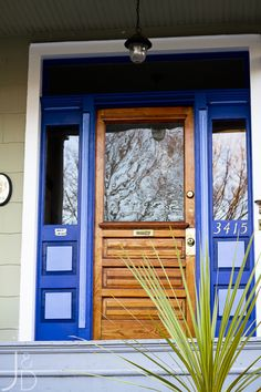 What color is your front door? Here are 12 colorful front doors that caught my eye. Get inspired by these yellow, blue, green, red and bright pink doors! Door Design, Front Door Colors, Diy Holiday Decor, House Exterior, Home Repairs, Front Door, Home Values, Curb Appeal, Doors