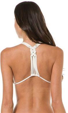 Crochet Back bikini top from L*Space