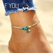 550af335f42 IF YOU Bohemia Bead Shell Anklet Foot Jewelry Women Ankle Leg Jewelry Summer  Beach Statement Chain Anklets Fashion Jewelry 2017. Bicki Smith · Clothes  to Go