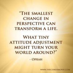 Oprah #quote #thecureis