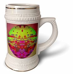 DYLAN SEIBOLD - PHOTO ABSTRACTION - GLITCH ART SPHERE - 22oz Stein Mug (stn_245735_1) by 3dRose, http://www.amazon.com/dp/B01M3VJ8R7/ref=cm_sw_r_pi_dp_x_P5UIybJDC1MFQ