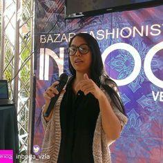 """Feliz de participar en el XV bazar fashionista @inboga_vzla  muchas gracias a Equipo de trabajo y a Fabricio  @Regrann from @inboga_vzla -  Hoy es la Tarde-Noche de Compras del Diseño Venezolano  Inicia el primer conversatorio """"Navegando en Aguas Digitales"""" @aguasdigitales con @yiminshum  ven aún estás a tiempo. Luego viene el Fashion Show Room con las modelos de @modelajeinicial  XV Edición del BAZAR FASHIONISTA by IN BOGA VENEZUELA  DOMINGO 18 DICIEMBRE  HOTEL GUAPARO INN Salón Guayacan…"""