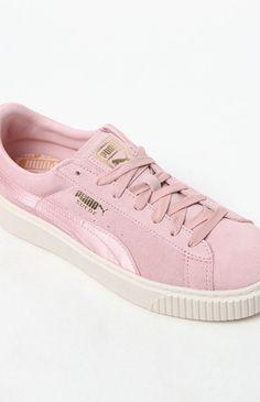 Puma Women s Suede Platform Mono Satin Sneakers at PacSun.com 2c8a6d999