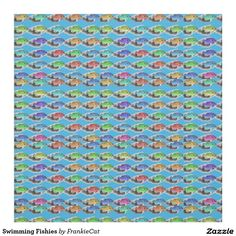 Swimming Fishies Fabric