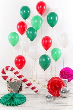 """Сет из латексных воздушных шаров """"New Year"""""""