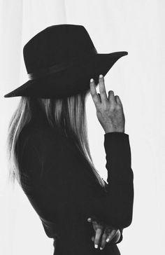 Fashion photo black and white