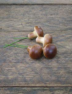 Mini műgombák beszúrható változatban. Ez nem hiányozhat az őszi dekorodból.